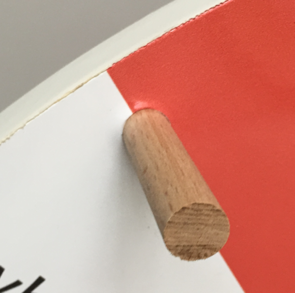 1x additional peg/segment (wood)